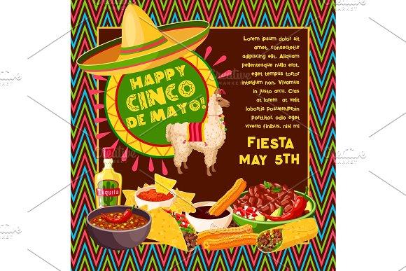 Cinco De Mayo Vector Mexican Celebration Fiesta