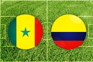 Senegal vs Colombia football match