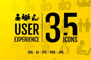 User experience: 35 icons