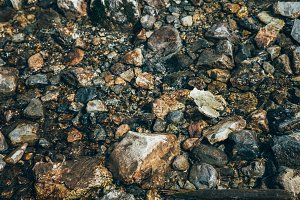 Mountain Stream Rocks