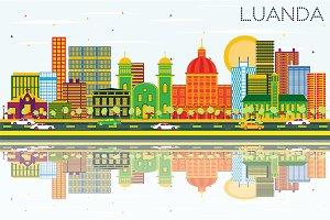 Luanda Angola Skyline