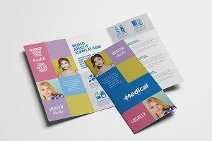 Modern Medical Tri-Fold Brochure