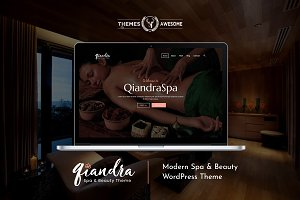 Qiandra - Modern Spa & Beauty Theme