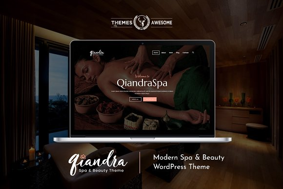 Qiandra Modern Spa Beauty Theme