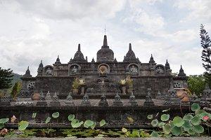 Buddhist temple on the island of Bali