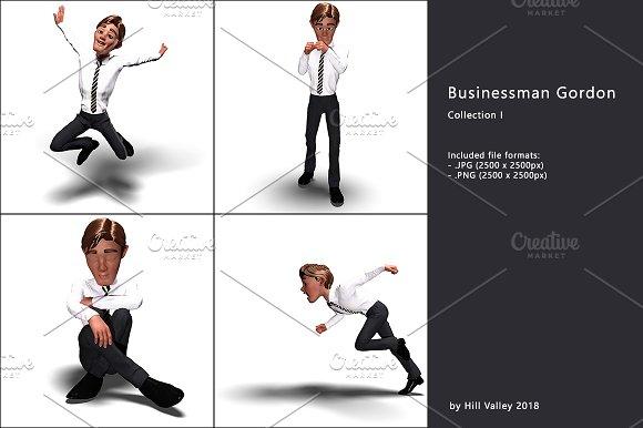 Businessman Gordon Collection I