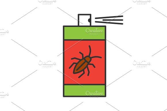 Roaches Bait Color Icon