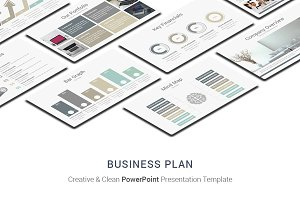 Business Plan PowerPoint Designs