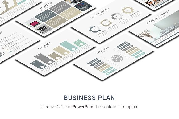 Business Plan PowerPoint Designs