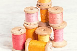 spools  threads