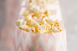 caramel pop corn