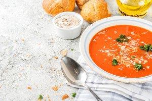 Tomato soup gazpacho