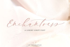 Enchantress | Luxury Script