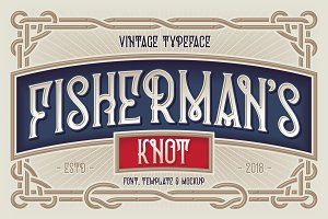 Fisherman's Knot. Font & Graphics