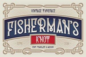 Fisherman's Knot. Font & Graphics