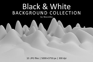 Black & White Background Collection
