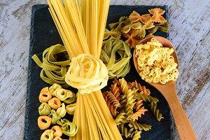 Tie of spaghetti and tagliatelle II