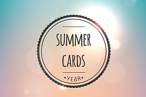 Summer cards