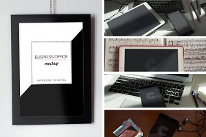 Business Office Mockup