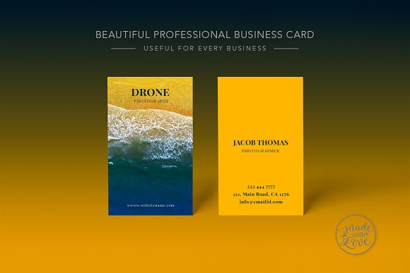 Drone Photography Business Card
