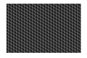 black background of hexagons