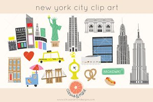 new york city clip art
