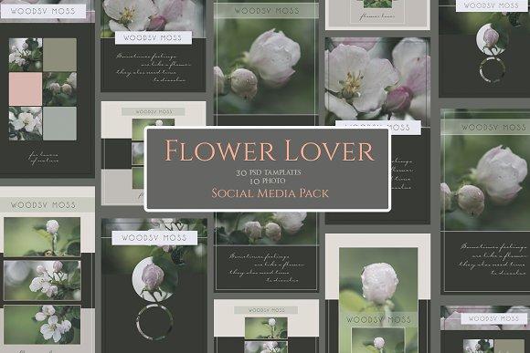 Flower Lover Social Media Pack