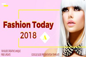 Fashion Today Google Slide Templates