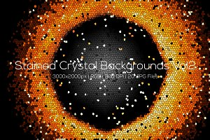 Stained Crystal Backgrounds Vol2