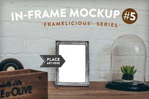 Framelicious. In-Frame Mockup #5