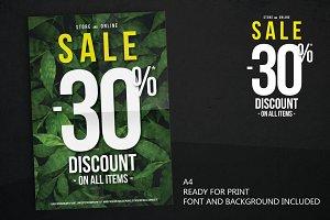 A4 SALE 30% DISCOUNT