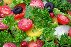 salad salad background