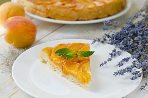 Tarte Tatin French fruit pie