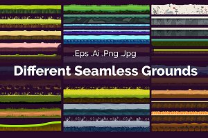 Different Seamless Grounds