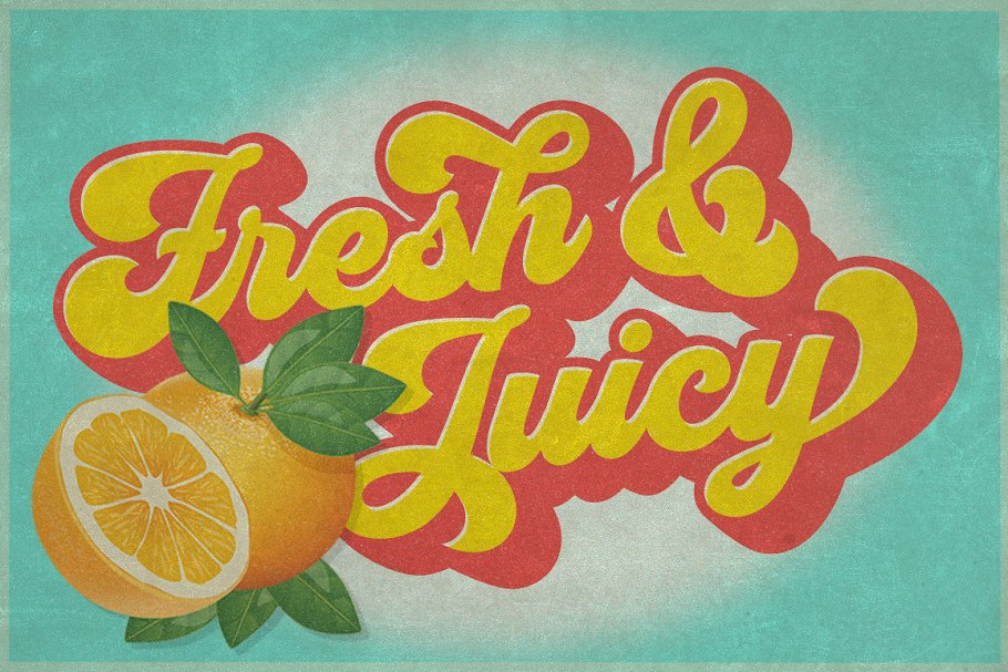 Groovy - Retro Font in Script Fonts - product preview 7