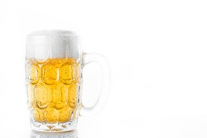 Beer glass jar