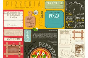 Placemat for Pizzeria