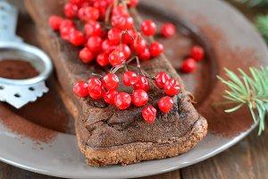 Chocolate gluten free pie