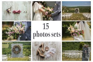 15 wedding photos sets