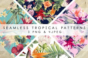Seamless tropical patterns 2018