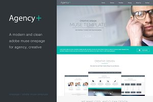 AgencyPlus - One Page Muse Template