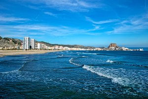 The beach of Cullera