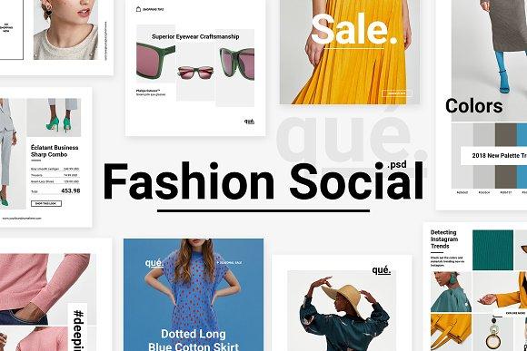 QUE - Fashion & Retail Social Media