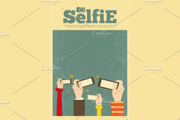 Selfie in Illustrations - product preview 1