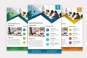 Corporation PowerPoint Flyer