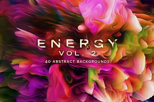 Energy, Vol. 2: 40 Abstract Textures