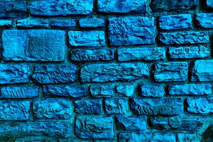 Background And Texture In Blue