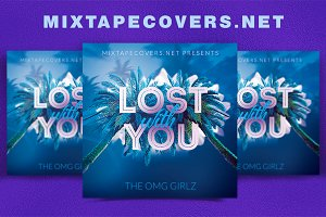 Lost with you album Cover Template