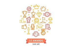 Award Signs Round Design