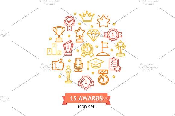 Award Signs Round Design